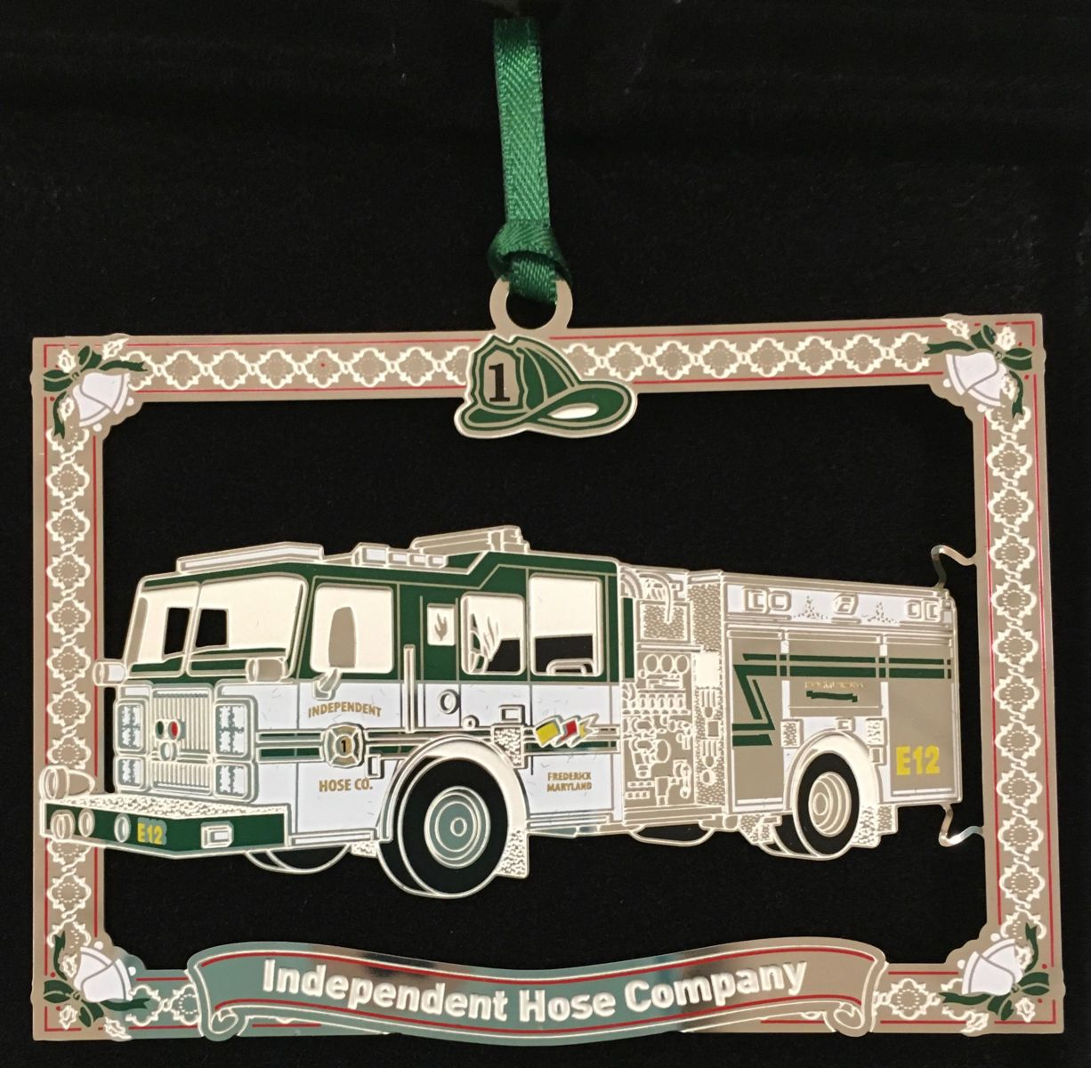 Engine 12 Christmas Ornament