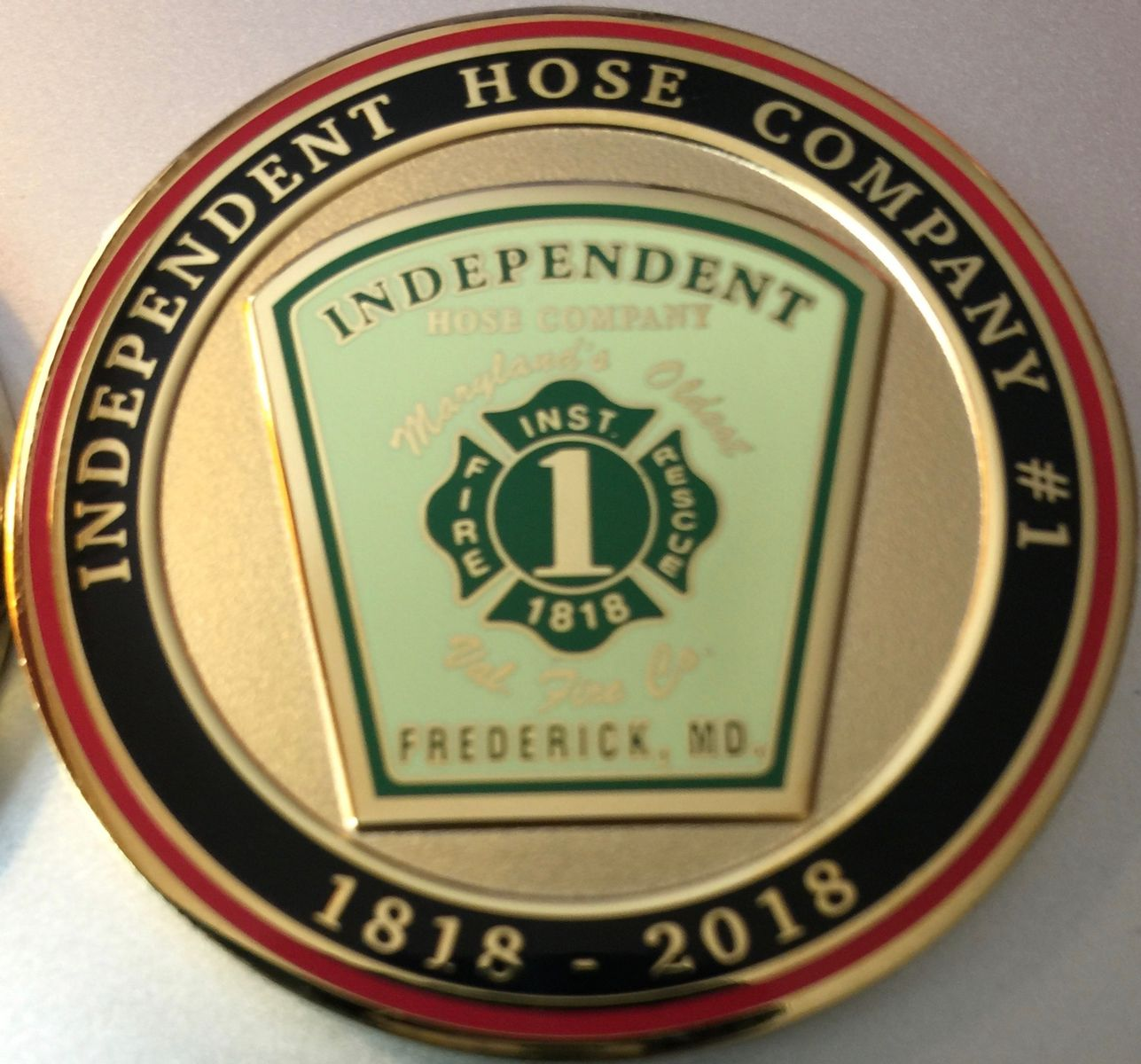 IHC Anniversary Coin- Front