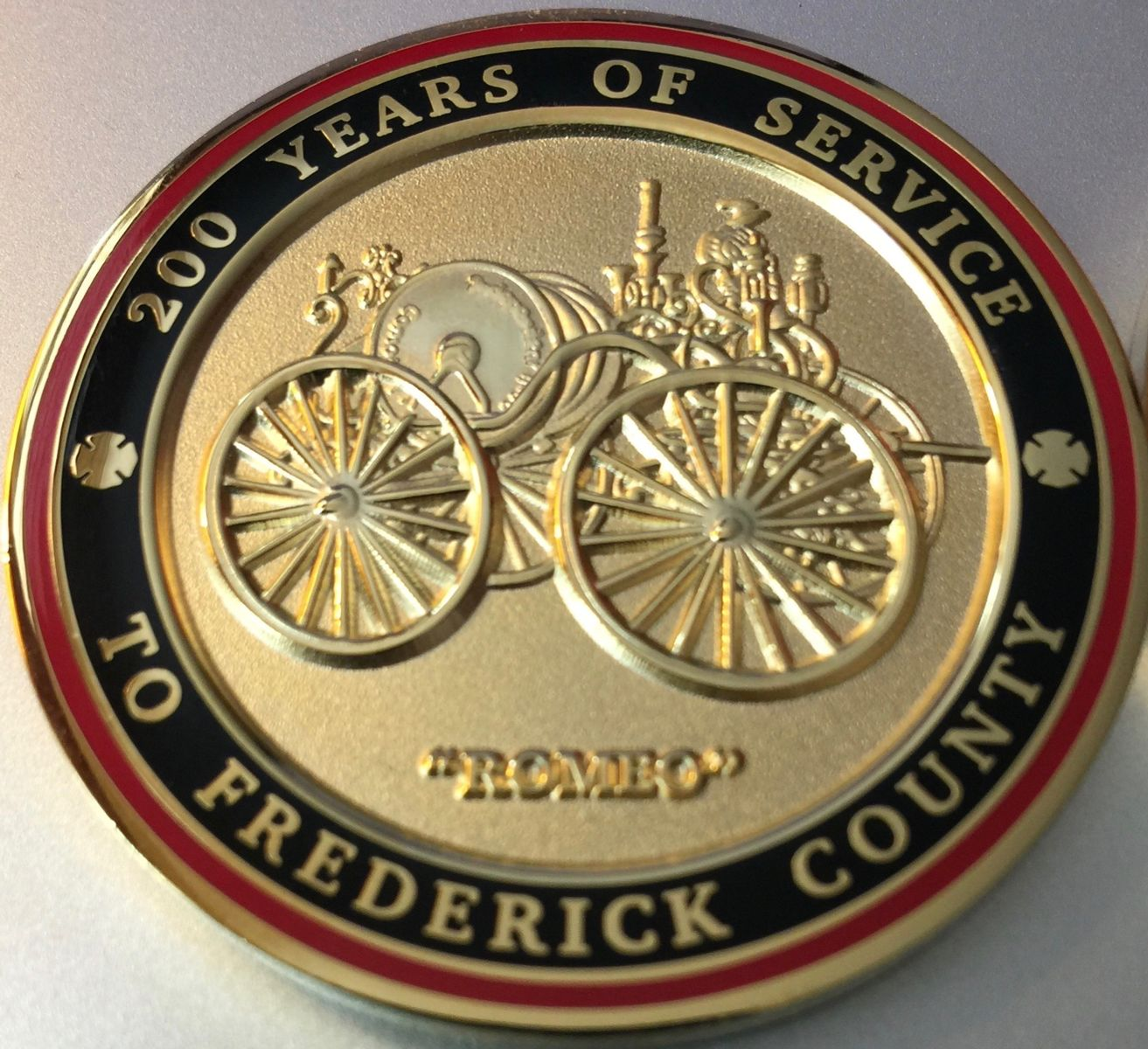 IHC 200th Anniversary Coin- back