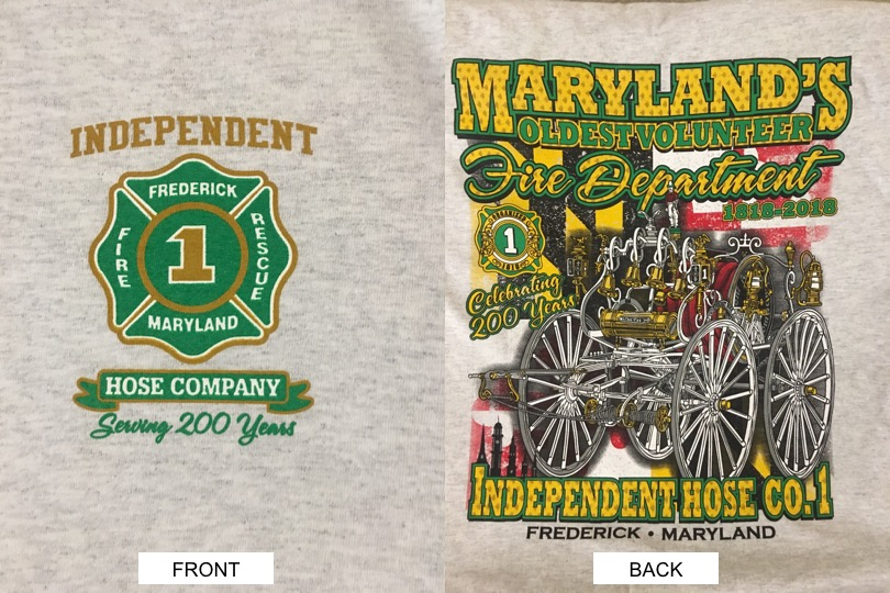 IHC 200TH ANNIVERSARY T-SHIRT